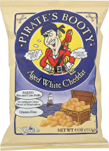 Pirate's Booty Cheddar Puffs product image.