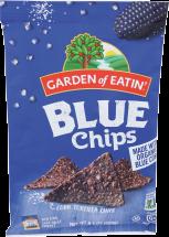 Garden Of Eatin' SaltedBlue Tortilla Chips 8.1 oz product image.