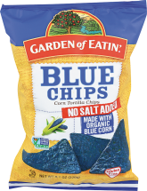 Blue Corn Tortilla Chips product image.