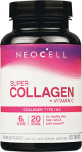 Neocell Super Collagen-C 120 tablet product image.