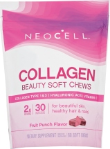 Neocell Beauty Bursts Fruit Punch 60 chewable product image.