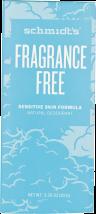 Fragrance Free Deodorant Stick product image.