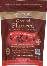 Sprectrum Essentials Flaxseed Ground Mixed Berries  12 oz product image.