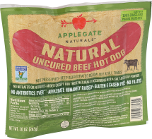 Nat Beef Hot Dog 10 oz. product image.