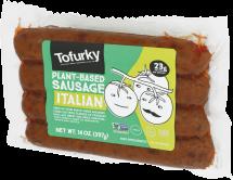 Tofurky Meat Alternative Original Sausage 14 oz. product image.