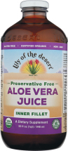 Lily Of The Desert Aloe Vera Juice 32 foz. product image.
