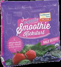 Earthbound Farms Kale Berry Smoothie Kickstart 8 oz product image.