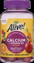 Alive!® Calcium + D3 Gummy  (Hfs) product image.