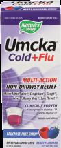 Umcka Cold & Flu Syrup product image.