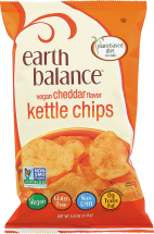 Earth Balance Kettle Chips 5 oz. product image.