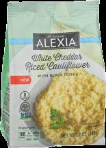 Alexia Riced Cauliflower 12 oz product image.