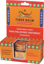 Tiger Balm® Red Extra Strength Ointment 0.63 oz product image.