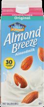 Almond Breeze Unsweetened Original product image.