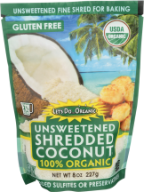 Unsweetened Shredded Coconut product image.
