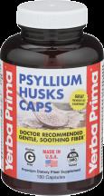 Yerba Prima Psyllium Husks Caps 180 capsules product image.