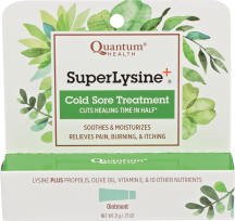 Super Lysine+ Cold Sore Treatment product image.