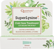 SuperLysine+ Cold Sore Treatment product image.