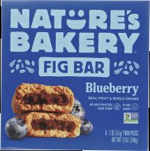 Whole Wheat Blueberry Fig Bar product image.