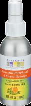Peaceful Patchouli/Sweet Orange Aromatherapy Mist product image.