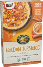 Nature's Path® Golden Turmeric Cereal 10.6 oz product image.