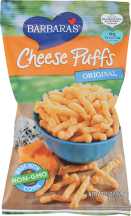 Barbara's Cheese Puffs Original 1 ounce product image.