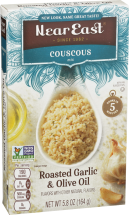 Near East Couscous Roasted Garlic And Olive Oil 5.8 oz product image.