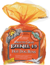 Food For Life Sprouted Hot Dog Buns 16 oz. product image.