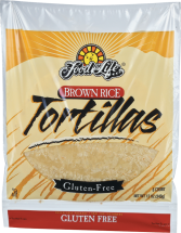 Brown Rice Tortillas product image.