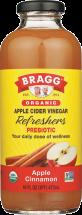Bragg Apple Cinnamon Apple Cider Vinegar Drink 16 oz. product image.