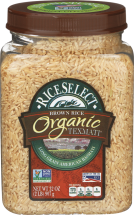 Texmati® Organic Brown Rice product image.