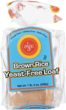 Yeast Free Brown Rice Loaf product image.