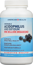 Blueberry Chewable Acidophilus product image.
