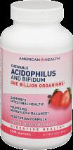 Strawberry Chewable Acidophilus product image.
