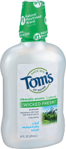 Tom's Of Maine Mouthwash 16 fluid oz. product image.