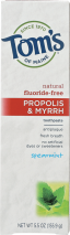 Tom's Of Maine Fluoride-Free Toothpaste 5.5 oz. product image.