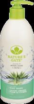 Nature's Gate Body Wash 18 fl oz. product image.