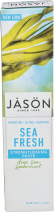 JASON NATURAL COSMETICS Toothpaste Sea Fresh Spearmint 170 g product image.