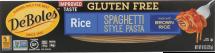 Deboles Rice Spaghetti 8 oz product image.