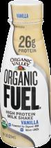 Organic Valley Organic Fuel™ High Protein Milk Shake 11 fluid oz. product image.