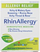 RhinAllergy Tablets product image.
