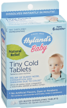 Baby Tiny Cold Tablets product image.