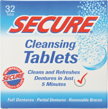 Denture Cleansing Tablets product image.