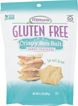 MILTON'S CRAFT BAKERS Baked Crackers 4.5 oz. product image.