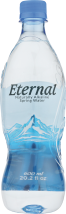 ETERNAL WATER Naturally Alkaline Spring Water® 600 milliliter product image.