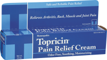 Topricin Pain Relief Cream product image.