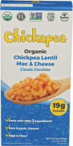 Chickpea Lentil Mac & Cheese product image.