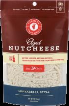 Aged Mozzarella Shredded Nutcheese  product image.