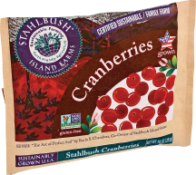 Stahlbush Island Farms Cranberries 10 oz product image.