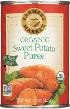 Organic Sweet Potato Puree product image.