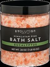 Eucalyptus Himalayan Pink Bath Salts product image.